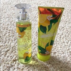 Bath & Body Works Limoncello Cream and Mist